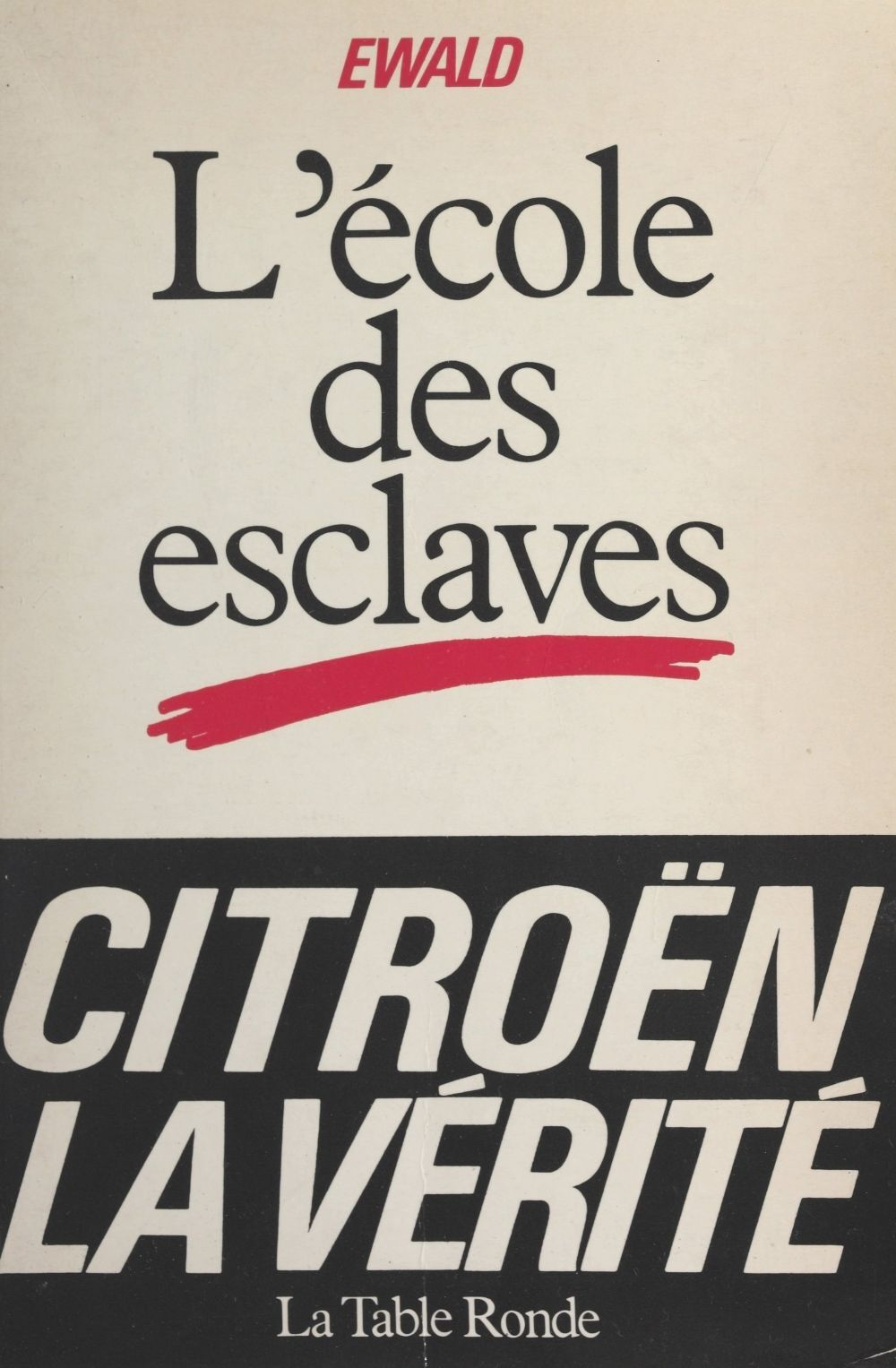 Photo du livre