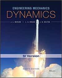Engineering mechanics, Dynamics 8ed. SI Version