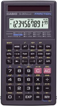 Calculatrice scientifique Casio FX-260 Solar