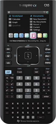 Calculatrice scientifique Texas TI-NSPIRE CAS